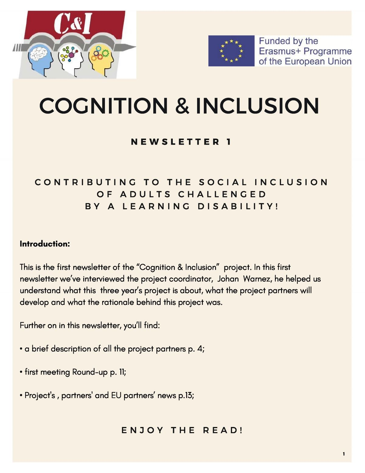 cognition and inclusion